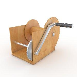3D winch model