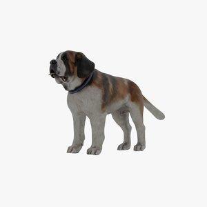 3D model sumo dog