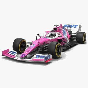 3D racing point f1 rp20 model