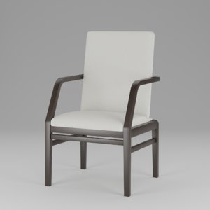 3D contract finn dining chair model