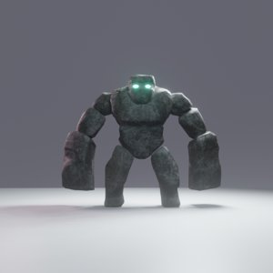 stone giant 3D