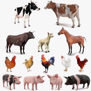 farm animals big 2 model