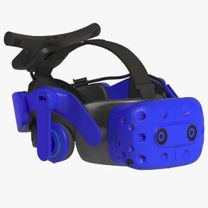 3D model vr helmet emissive