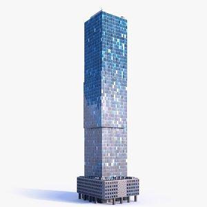 skyscraper building 09 3D model