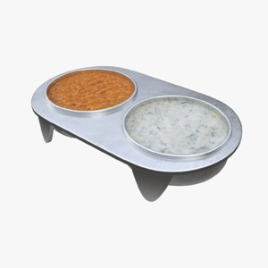 gravy boat caviar 3D