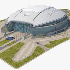 att stadium t 3D model