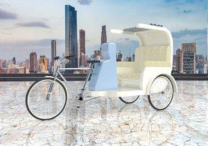 byke rickshaw 3 v2 3D