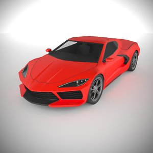 polycar n64 lp1 cars 3D model