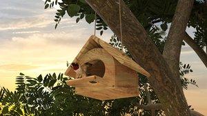 bird box 3D model