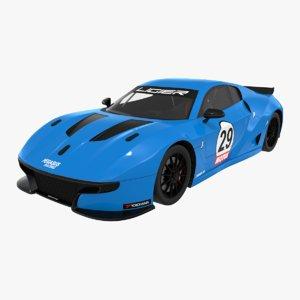 ligier js2 r pegasus 3D model