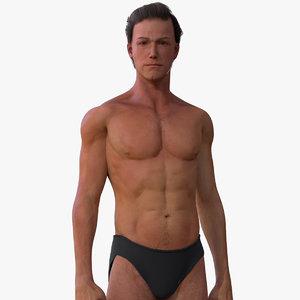male body model