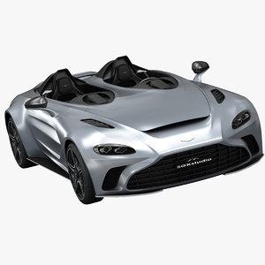 aston martin v12 speedster 3D