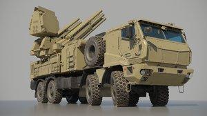 3D model pantsir-s1m russian medium-range