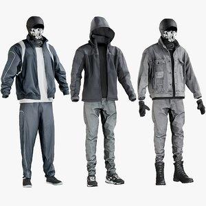 3D realistic terrorist clothing 1