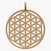 Flower of Life Pendant - 3D Print