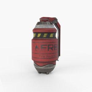 grenade 3D
