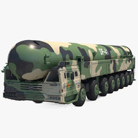 Dongfeng-41 ICBM Launch Vehicle Rigged