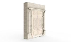 classic stucco door model