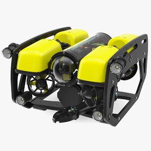 3D underwater robot generic