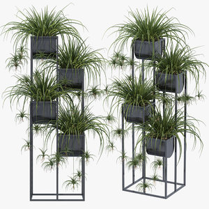 3D model nyx plant stand decor