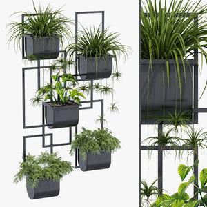 nyx hanging planter decor 3D model