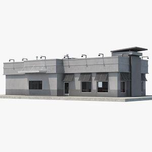 story building 3D model