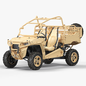3D model polaris mrzr 2