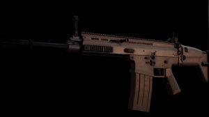 scar-h rifle model