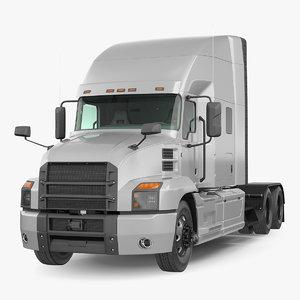 semi truck generic simple model