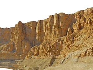 3D valley kings mountain range