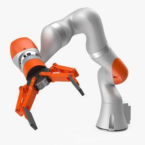 3D generic robot hand finger