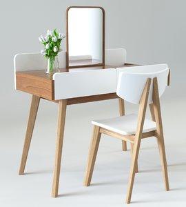 elegant dressing table model