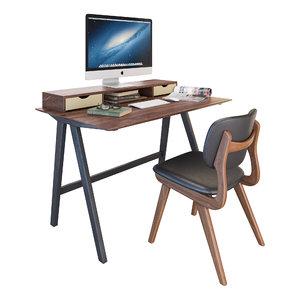 3D ivory chair civil model
