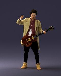 3D musician music model