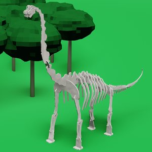 3D printed dino