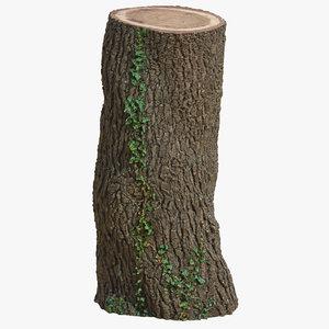 tree trunk 03 model