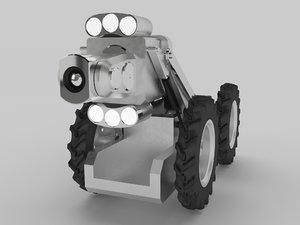3D rovver 225 model