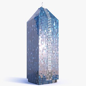 3D model skyscraper building 11