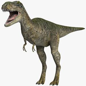 albertosaurus 3D model