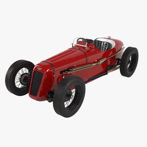 3D austin seven special car model