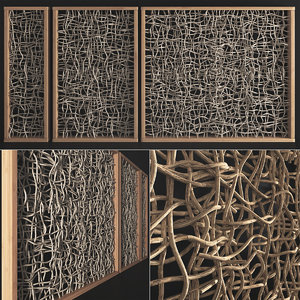 branch wall decor 3D model
