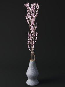 blossom vase 3D model
