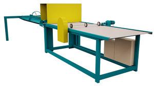 3D roll split machine