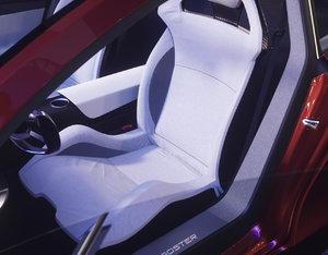 sport car seat 3D