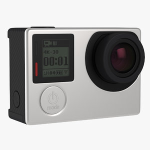 action camera generic cam 3D model