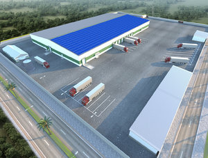 hangar environment 3D