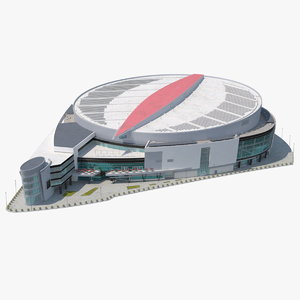 3D multi-purpose arena model