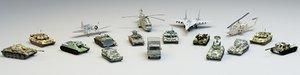 war mechanisms 3D model