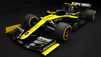 F1 Renault F1 R.S.20 Update 2020