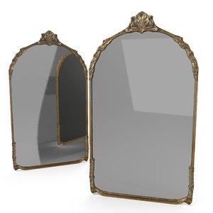 3D model frame mirror antique